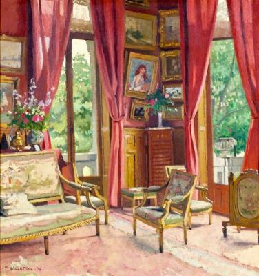 Felix Vallotton. Interior