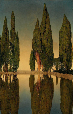 Pond of Villa Falconieri, Frascati