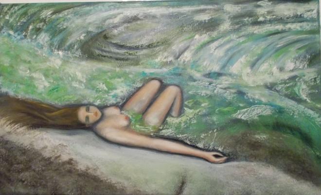 Irina Pavlovna Alekseeva. The girl in Thailand