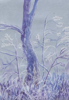 Marina Bocharova. Spring tree