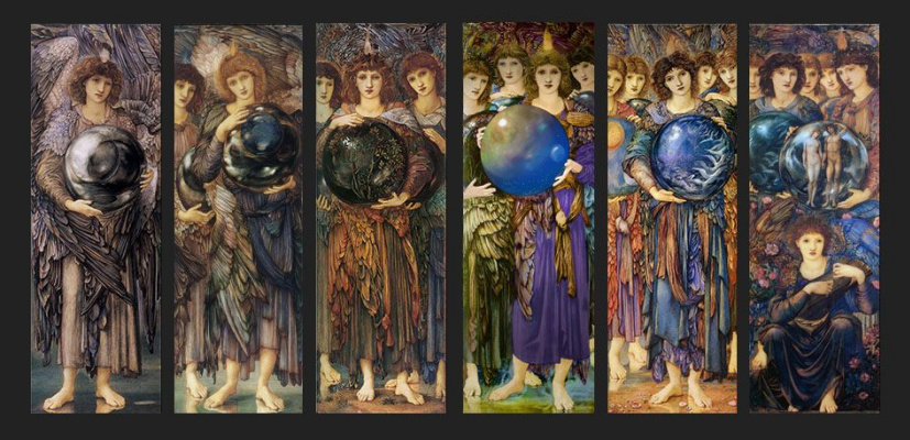 Edward Coley Burne-Jones. The Days of Creation