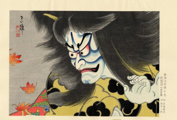 Тадамаса. Японская живопись. Тадамаса14