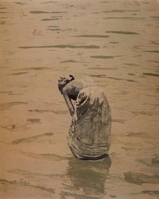 Мануэль Гарсия Родригес. Девушка в воде