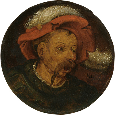 Peter Brueghel The Younger. Portrait of a farmer