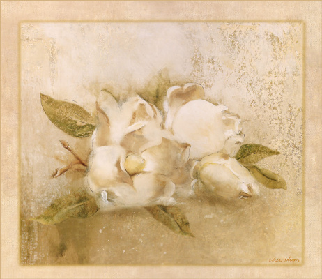 Чери Блюм. Белые цветы