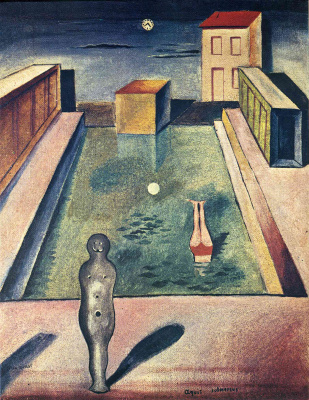 Max Ernst. Immersion in water