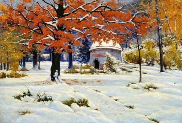 Константин Яковлевич Крыжицкий. Ранний снег