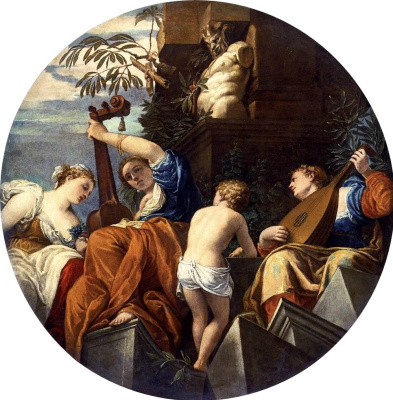 Paolo Veronese. Allegory of Music