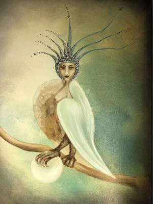 Мария Солнечная. Bird gamaun