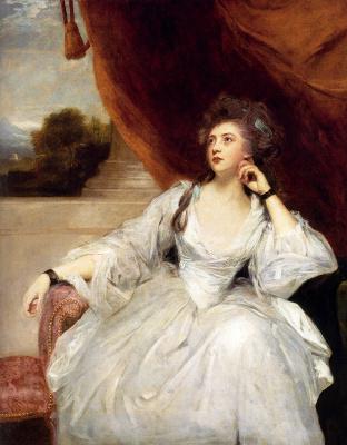 Joshua Reynolds. Portrait of Elizabeth Falconer, Mrs. Stanhope