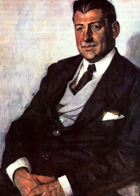Alexander Yakovlevich Golovin. Portrait Of Y. M. Yuriev