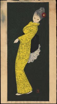 Каору Кавано. Девушка в желтом