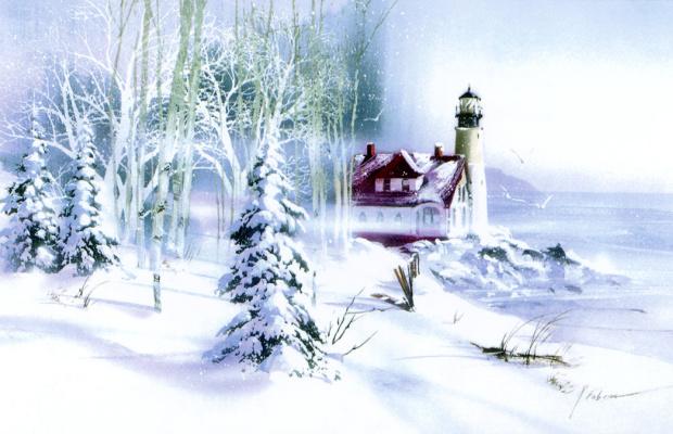Роберт Фобеар. Зимний свет