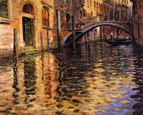 Луи Астон Найт. Пон-дель-Анджело в Венеции