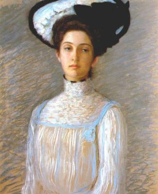 Перри. Алиса в белой шляпе