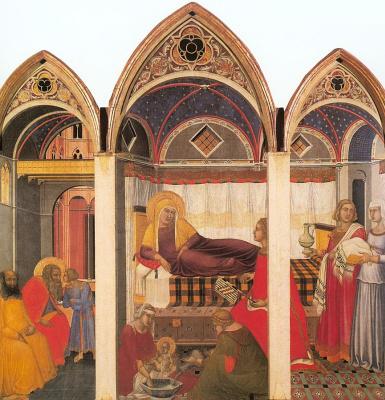 Пьетро Лоренцетти. Рождество Марии