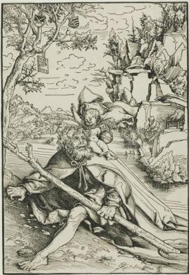 Lucas Cranach the Elder. Saint Christopher