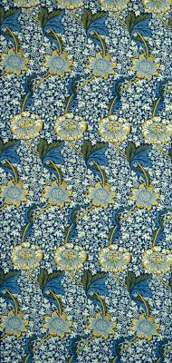William Morris. Kenneth. Flower Design
