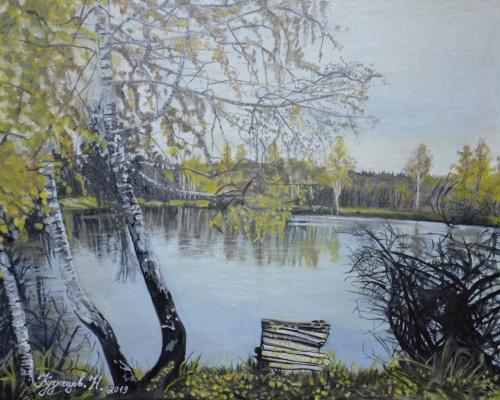 Nikolay Sergeevich Kuznetsov. Canvas, oil