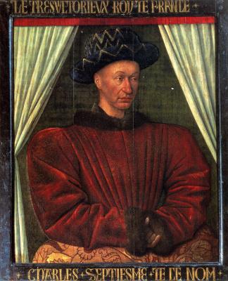 Жан Фуке. Карл VII, король Франции