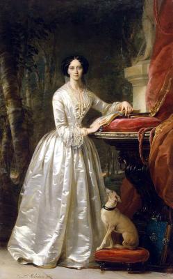 Кристина Робертсон. Портрет великой княгини Марии Александровны