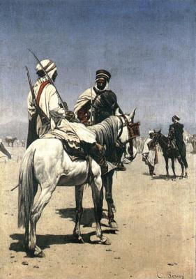 Шарль Луи Порион. Араб