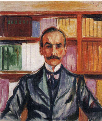 Edvard Munch. Count Harry Kessler