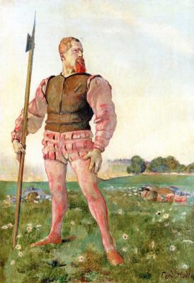 Фердинанд Ходлер. Злой воин