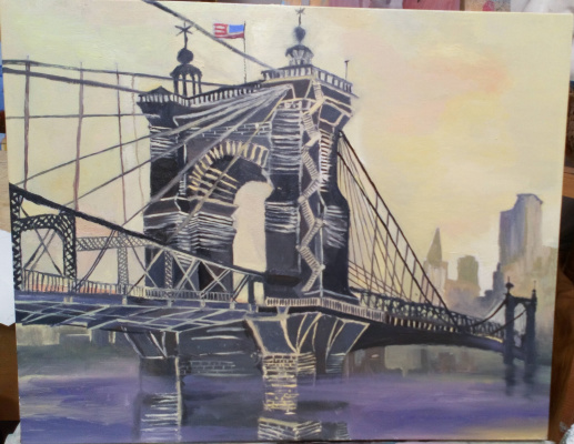 Julia Alekseevna Ovcharenko. The Brooklyn Bridge