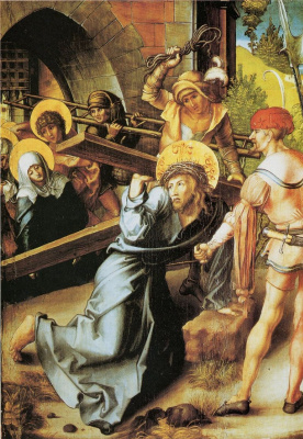 Albrecht Durer. The carrying of the cross