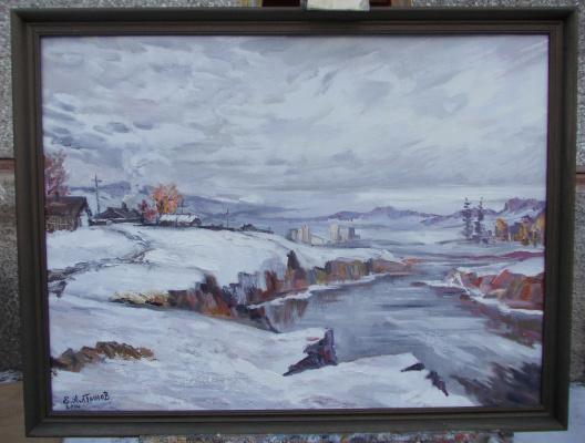 Евгений Борисович Алтынов. Early snow.