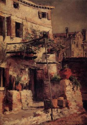 Венецианская сцена