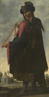 Франсиско де Сурбаран. Левий из серии «Иаков и его двенадцать сыновей»