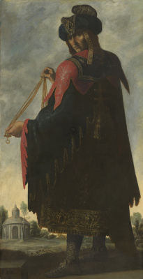 "Francisco de Zurbaran. Levi from the series ""Jacob and his twelve sons"""
