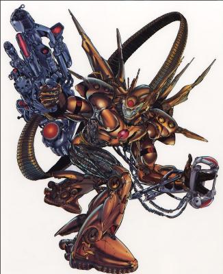 Ричард Бенетт. Опасный робот