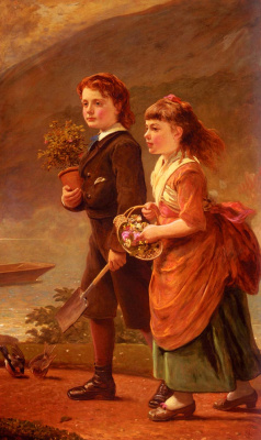 James Sant. Children
