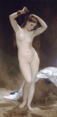William-Adolphe Bouguereau. Bather