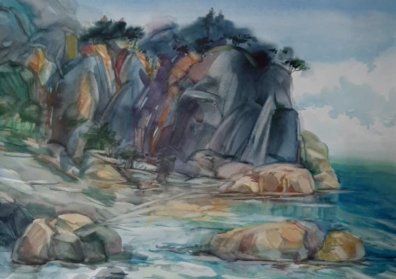 Lika Kondratsionova. Coast of sardinia