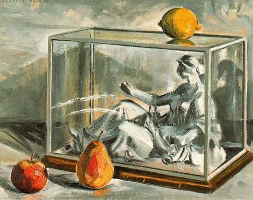 Грегорио Прието Муньос. Натюрморт с лимоном