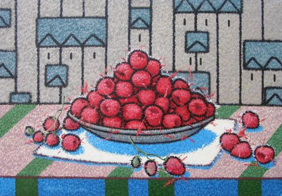 Yuri Vladimirovich Sizonenko. Raspberries.
