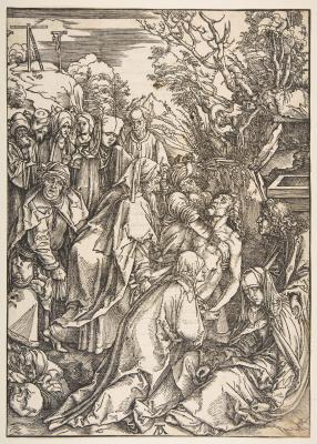 Альбрехт Дюрер. Погребение Христа