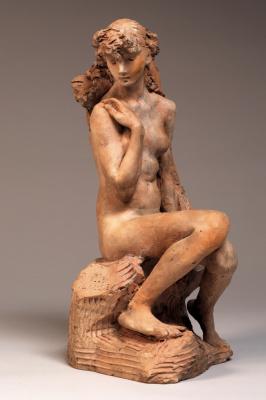 Camille Claudel. Девушка со снопом