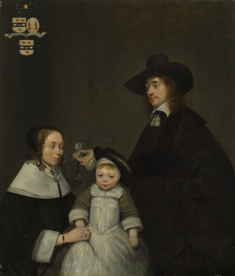 Gerard Terborch (ter Borch). Family of Van Merkerken