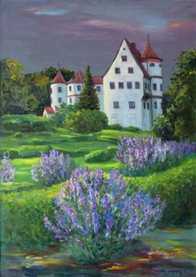 Marina Dmitrievna Razin. Germany, the castle in Neufra