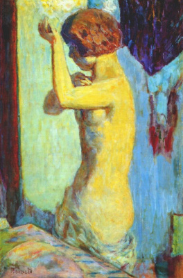 Pierre Bonnard. Toilet