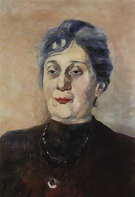 Мартирос Сергеевич Сарьян. Портрет Анны Ахматовой