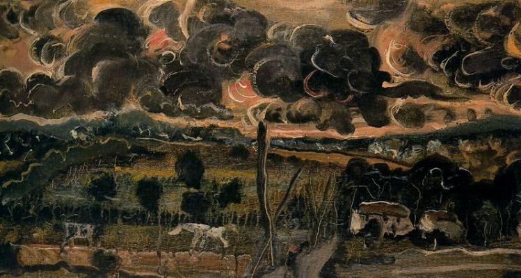 Andre Derain. Ominous Landscape