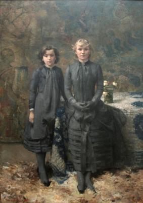 Theo van Rysselberghe. The artist's sister