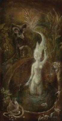 Leonora Carrington. The white goddess