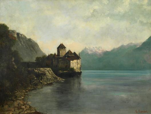 Gustave Courbet. Chillon castle